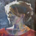 L. Fowler Portrait in Oil